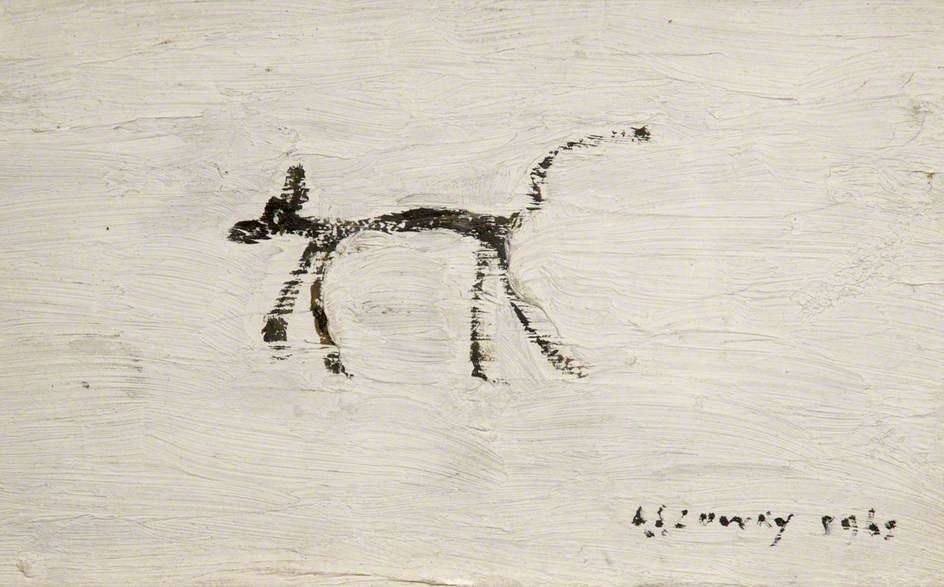 LS Lowry Dog 1962 in 2019 Dog art, Art, Art uk