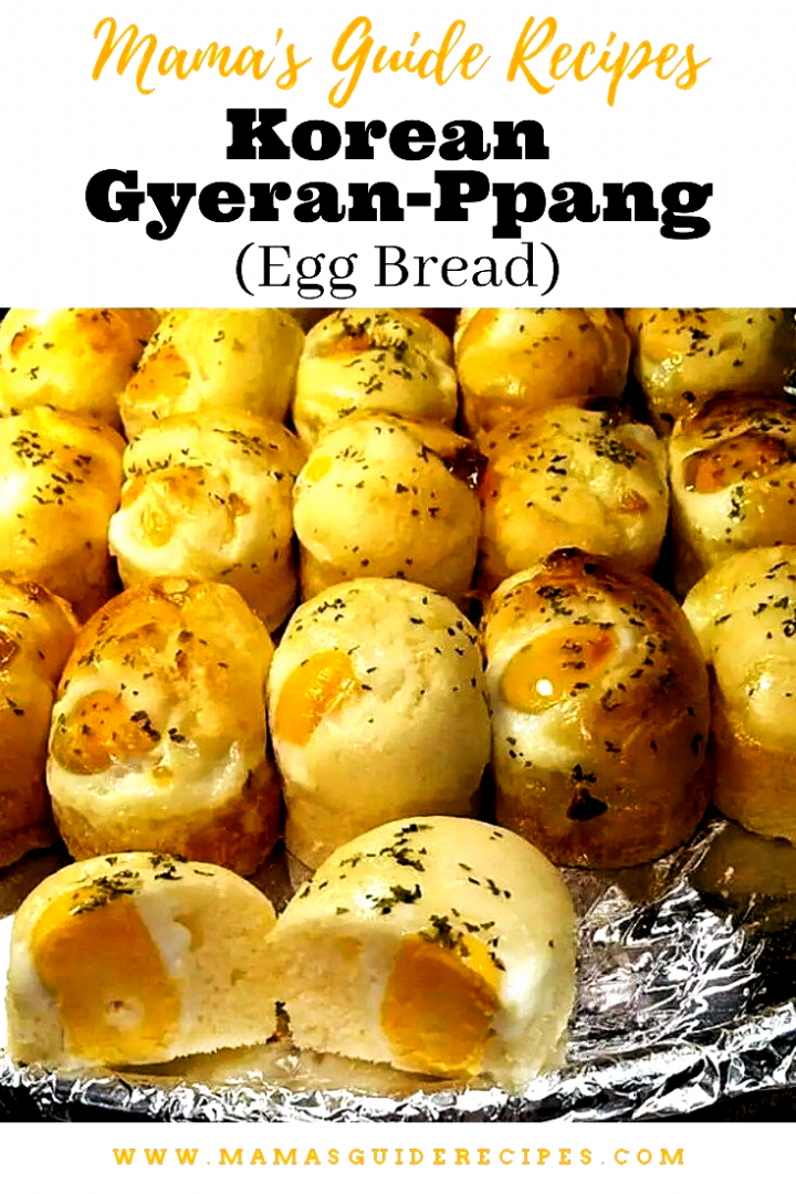 These Korean Gyeran Ppang Bread Are Delish Korean Gyeran Ppang Are Local Korean Street Food Bread That Are Usually Sold In Fo In 2020 Food Korean Street Food Recipes