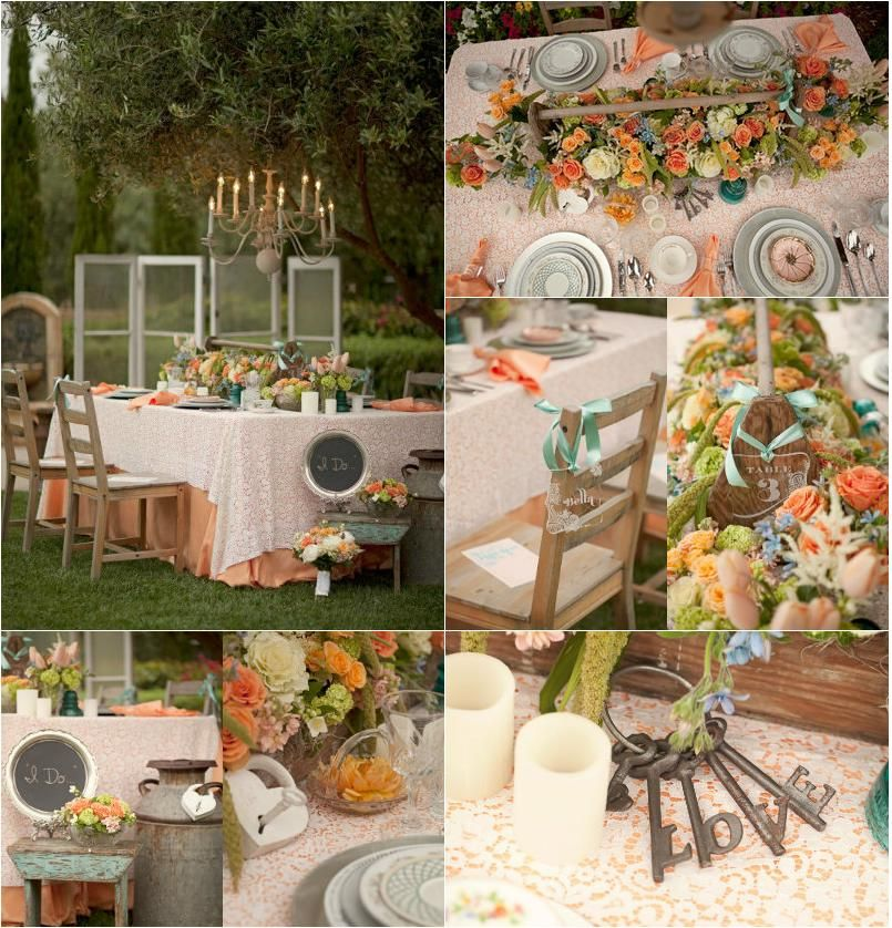 Shabby Chic Wedding Table Decorations: Using Mismatched China To Decorate Your Wedding