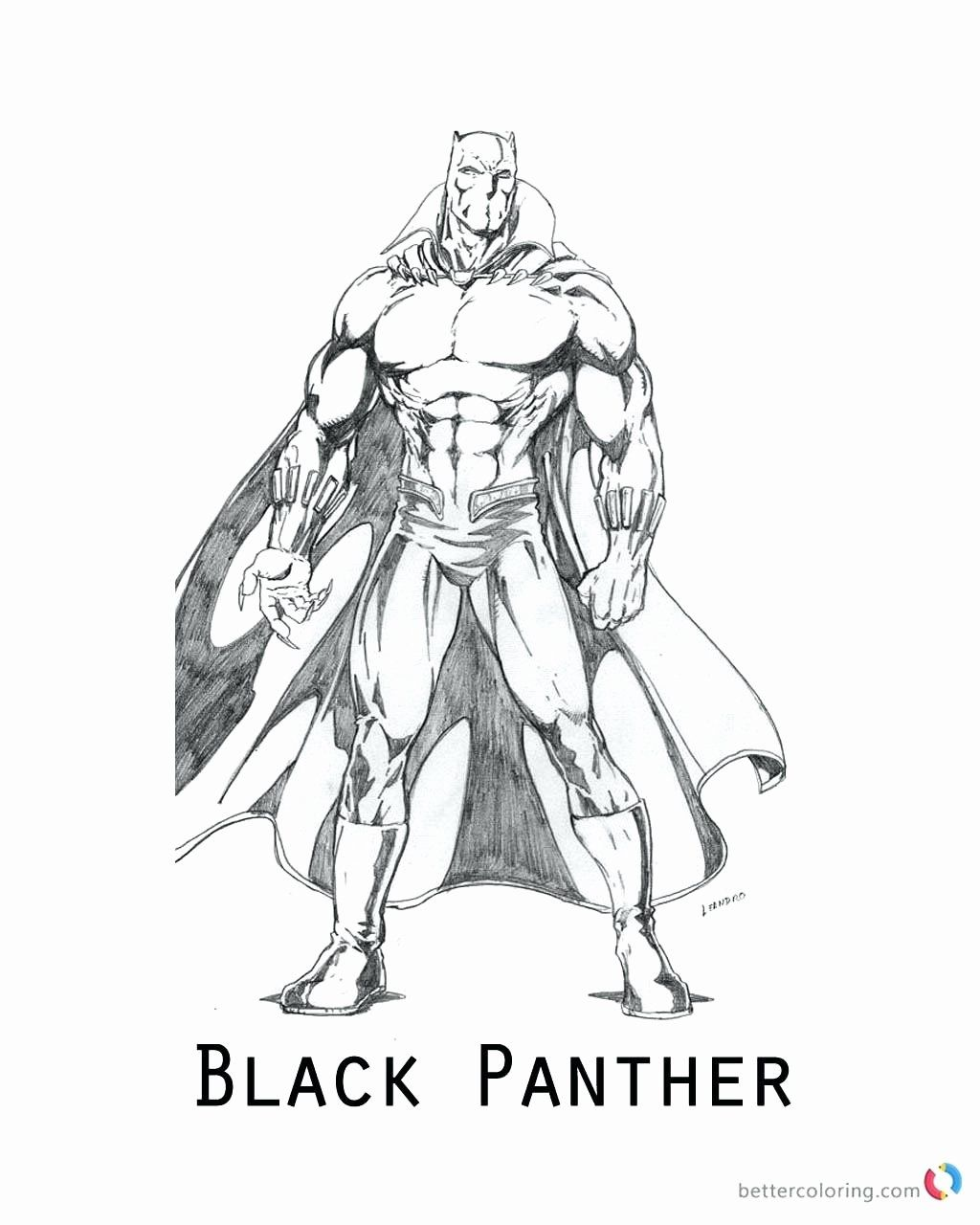 Black Panther Free Printable Coloring Pages Doraemon
