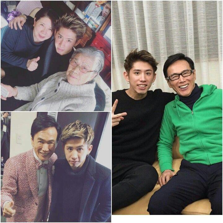 Taka and his family One Ok Rock