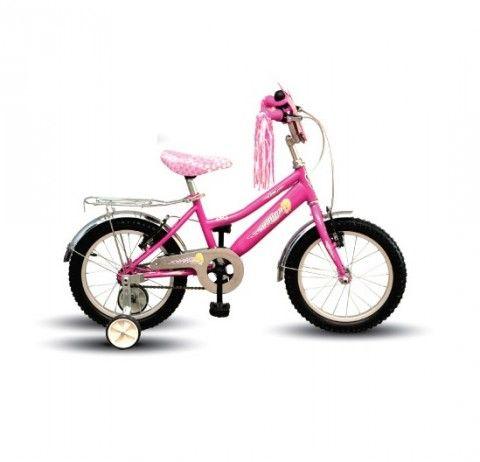 Arnica 16 Jant 4 7 Yas Kiz Cocuk Bisikleti Pembe Bisiklet Jant
