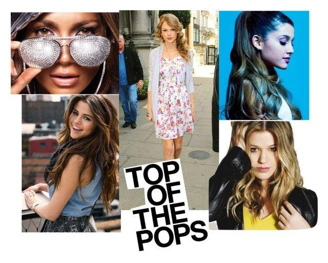 """Pop-Stars"" by sahelirima on Polyvore featuring Jennifer Lopez and popstars"