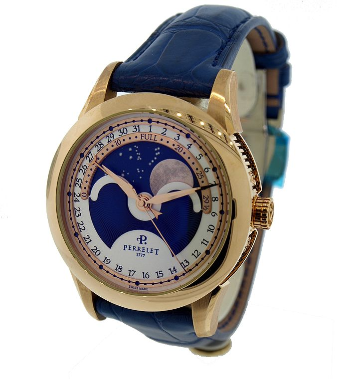 perrelet big central moon phase watch a3013 3bl perrelet big central moon phase watch a3013 3bl monstermarketplace com