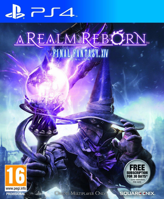 Final Fantasy Xiv A Realm Reborn Ps4 Final Fantasy Xiv Final