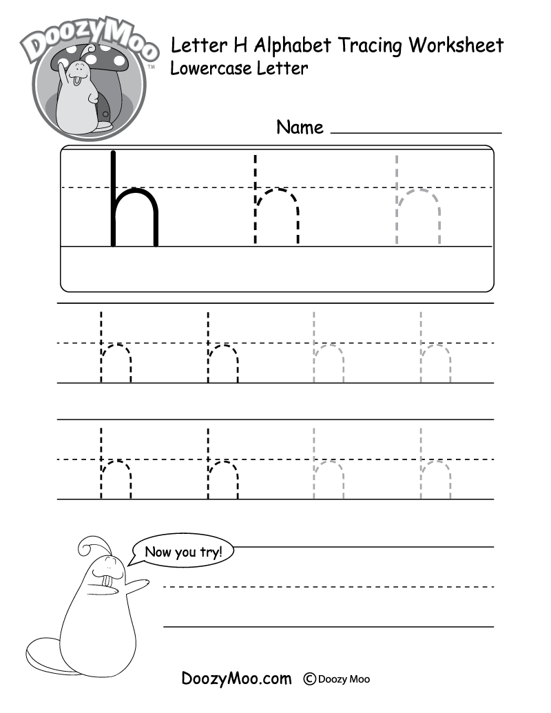 Kids Can Trace The Small Letter H In Different Sizes In This Free Printable There Is Al Tracing Worksheets Tracing Worksheets Free Letter Tracing Printables [ 1035 x 800 Pixel ]