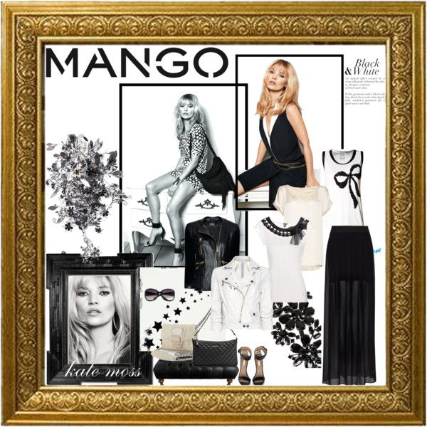 Fashion in Motion with MANGO & Kate Moss, created by aprilgirl-rome