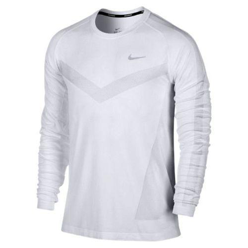Nike dri-fit knit long-sleeve men s running shirt was  80  0df2d51917eb8