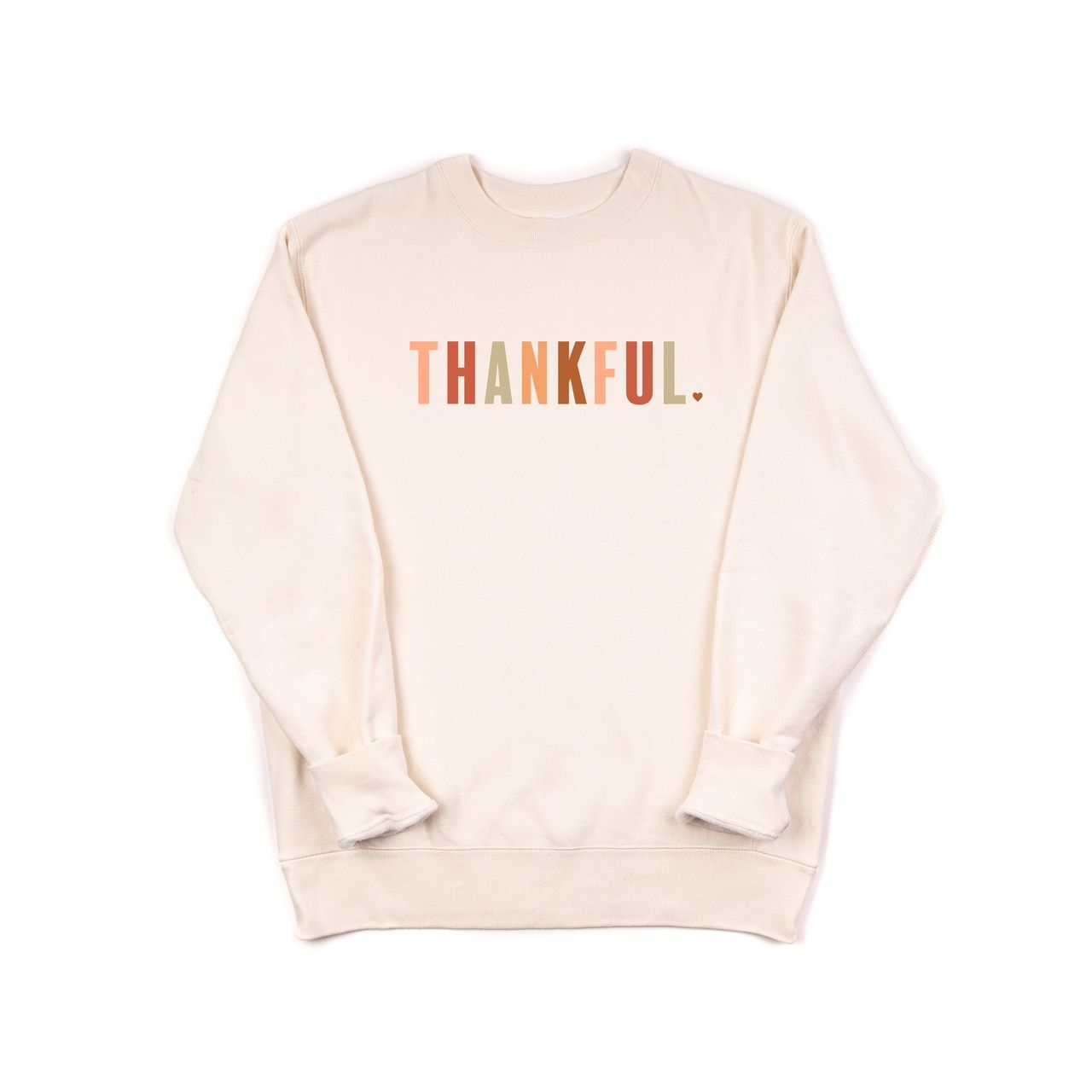 Thankful Multi Color Premium Cozy Heavyweight Sweatshirt In 2021 Sweatshirts Workout Sweatshirt Crew Neck Sweatshirt [ 1280 x 1280 Pixel ]