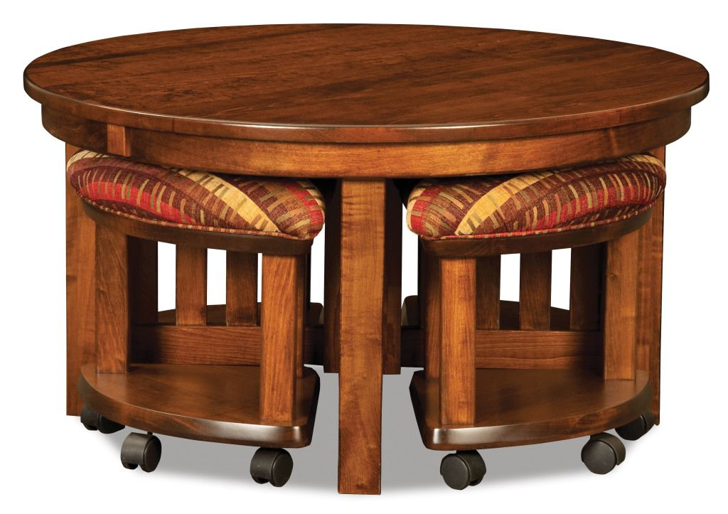 5pc Round Table Together Dream Room Coffee With