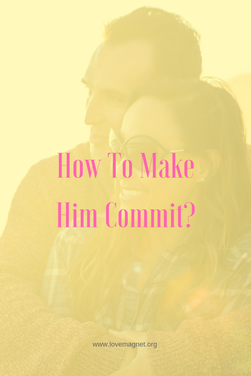 To man makes you a commit What