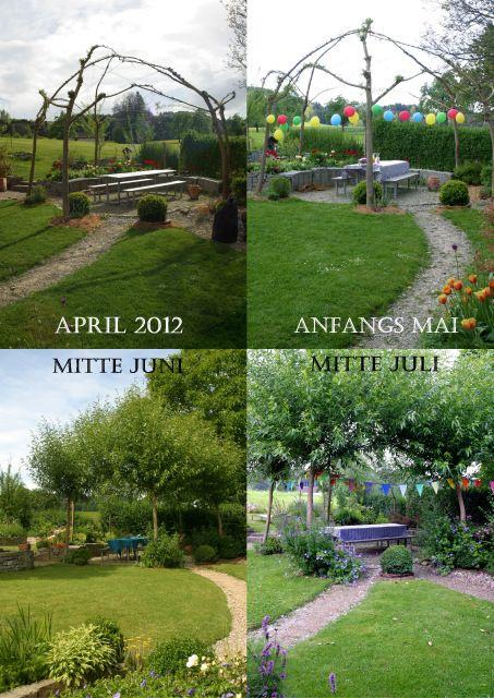 Weiden Von Pavillons Und Flechtereien Ein Schweizer Garten Ein Schweizer Garten Garten Bepflanzung