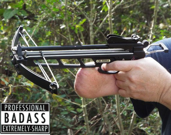 Cannonbolt Dual Little Panther Crossbow And Steel Balls Pistol Crossbow Panther Pistol