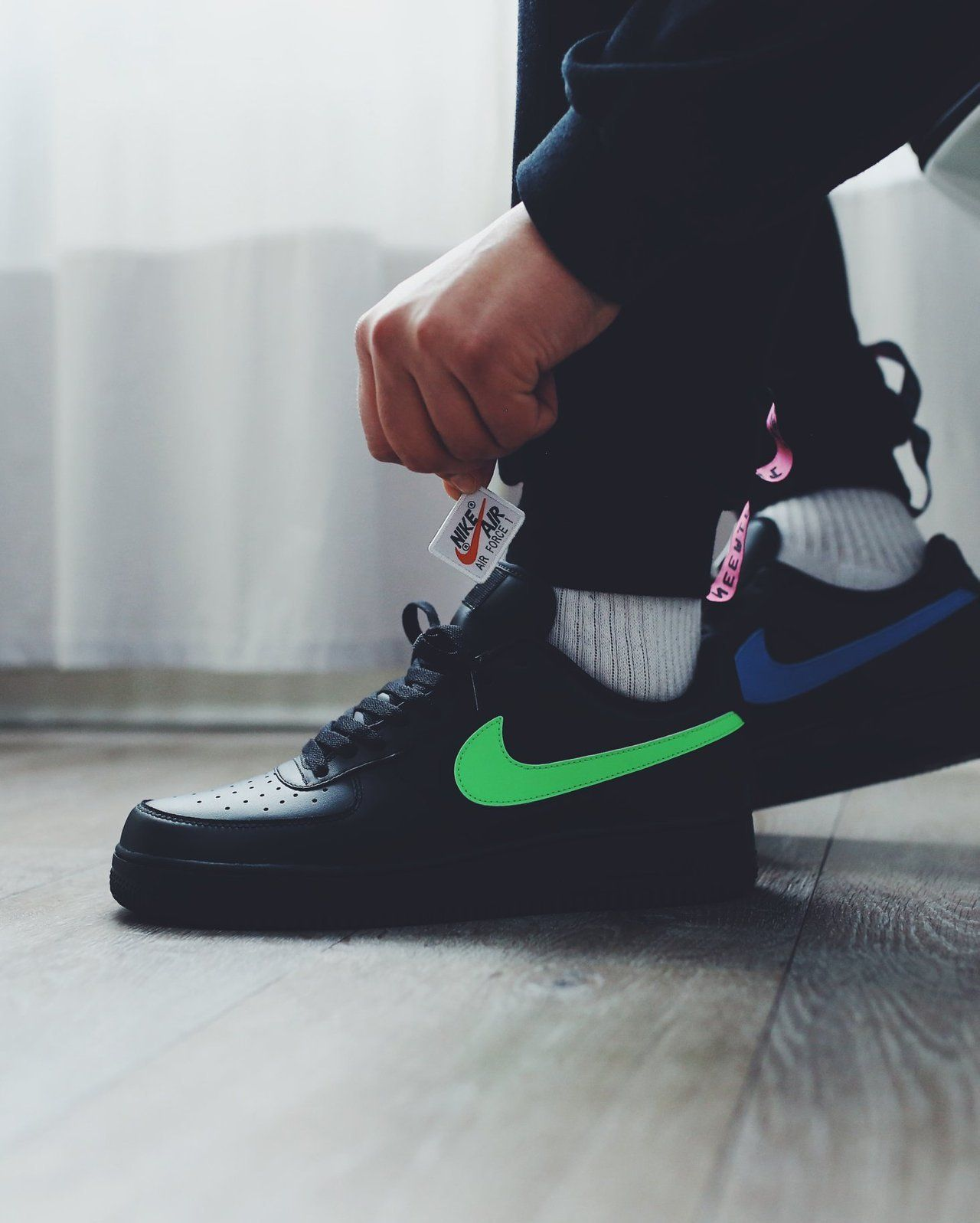 Nike Air Force 1 07 Qs Velcro Swoosh Pack Nike Air Nike Nike Air Force