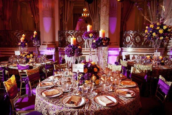 Beautiful Cultural Indian Wedding In New York City ReceptionsWedding Reception DecorationsIndian