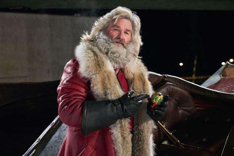 Kurt Russell's Santa beard was '80 percent' natural in