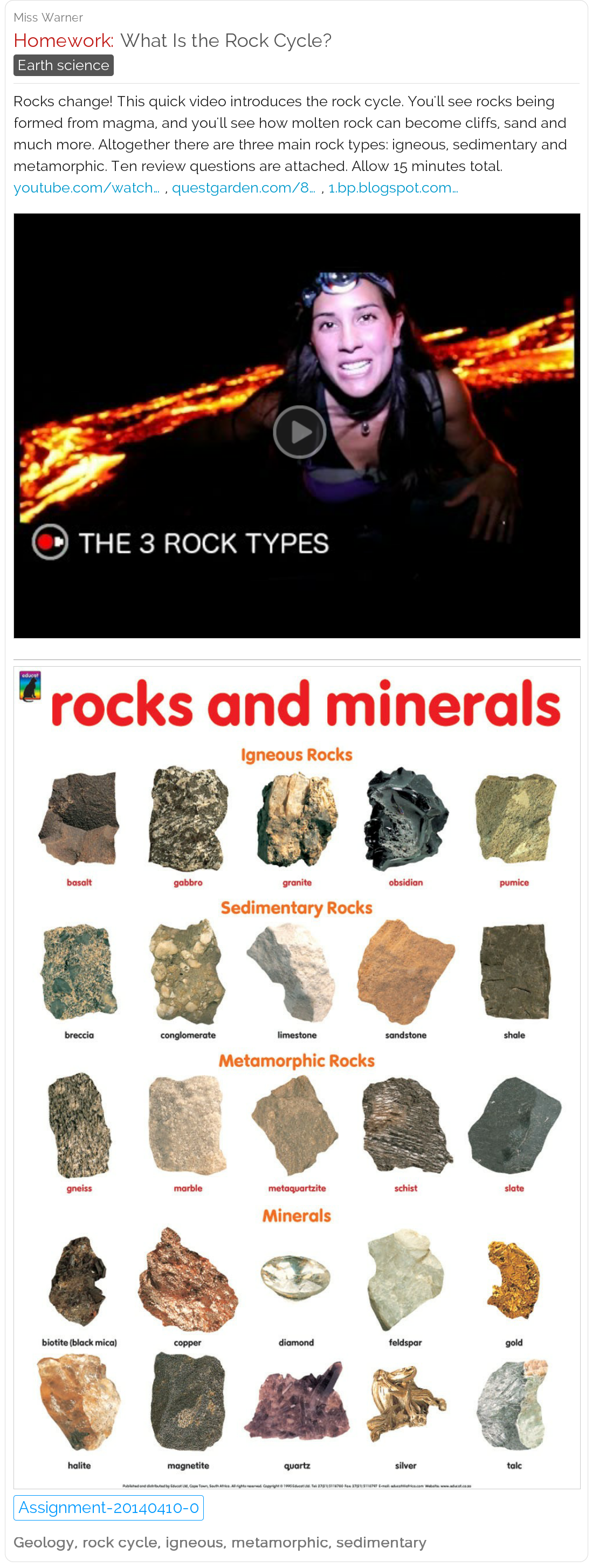 What Is The Rock Cycle Video Chart Amp Quiz Free Lessons Geology