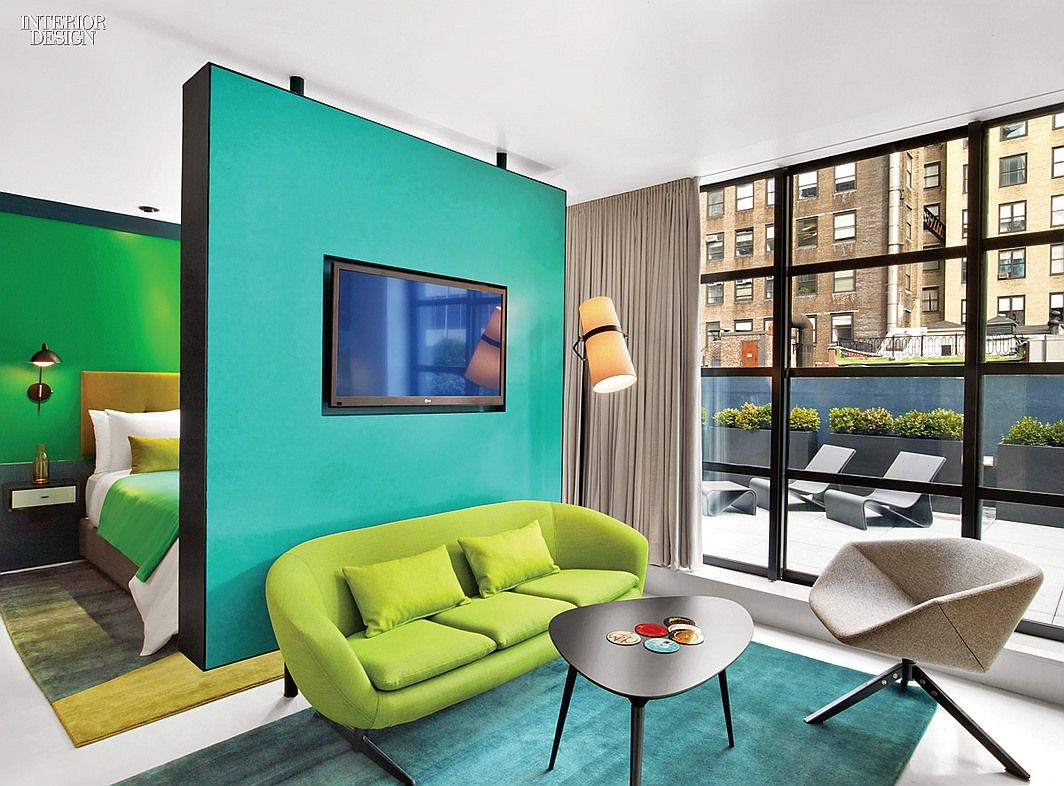 Shelter From the Gray: Alumni Club Is Now The William Hotel | Projects | Interior Design