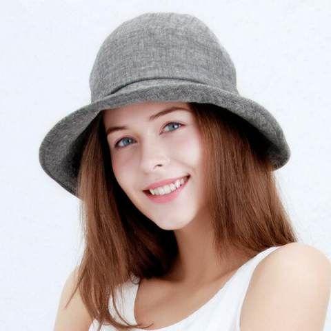f15c98936 Bow bucket hat for women outdoor travel sun hat riding wear | sun ...