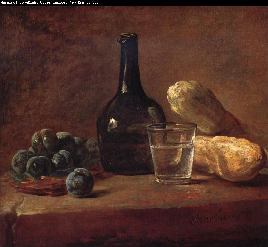 Jean Baptiste Simeon Chardin Still life with plums