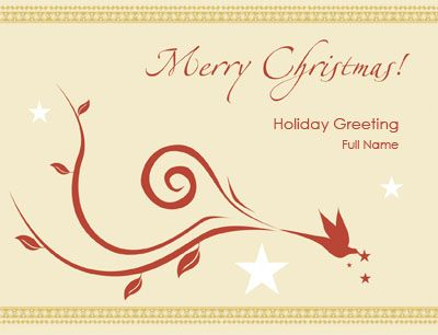 Custom Holiday Print Templates By Overnight Prints  Christmas