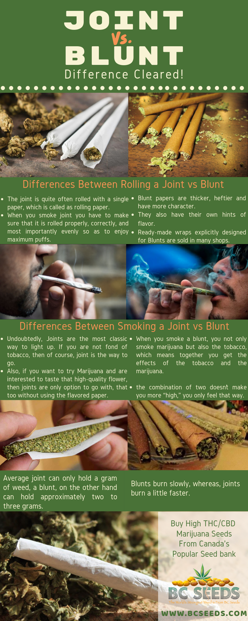 Can You Get High From Smoking Paper Joint Vs Blunt Difference Cleared Joint Blunt Rolling Paper