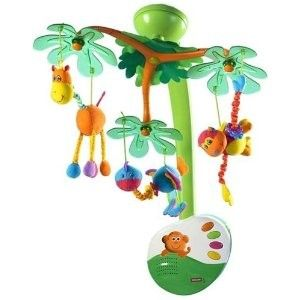 The soothing music played by the Sweet Island Dreams mobile will calm baby as well as fascinate them. It features muldidimensional movement, 2 classical tunes and colourful characters which move independently to the sounds of the music. It provides tranquil music and magical movements for your new born baby.    RRP: £49.95  Our Price: £47.45  Available here: http://www.mykiddistore.com/tiny-love-sweet-island-dreams-mobile/