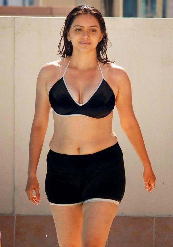 Heroine Hema Malini Hot Bikini Without Dress