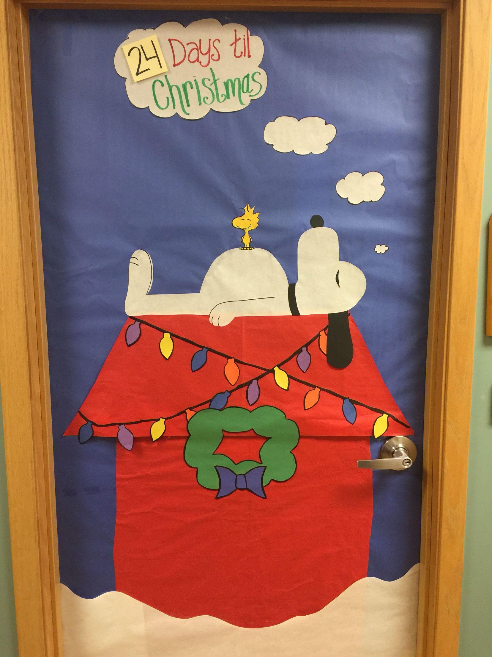 Charlie Brown Door decoration, peanut, snoopy, ideas, cute