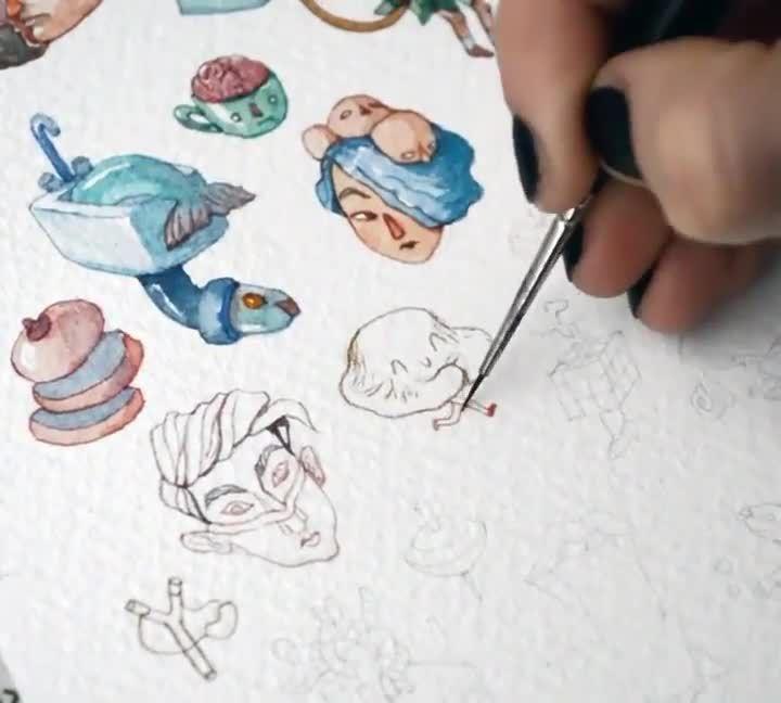 #watercolor #watercolorart #watercolorpaintings #watercolorpainting #watercolordrawing #watercolordrawings #watercolorartists