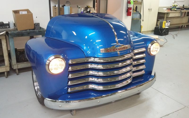 1950 Chevrolet 3100 All-Steel Toolbox in Blue | Chevrolet 3100, Chevrolet, Tool box