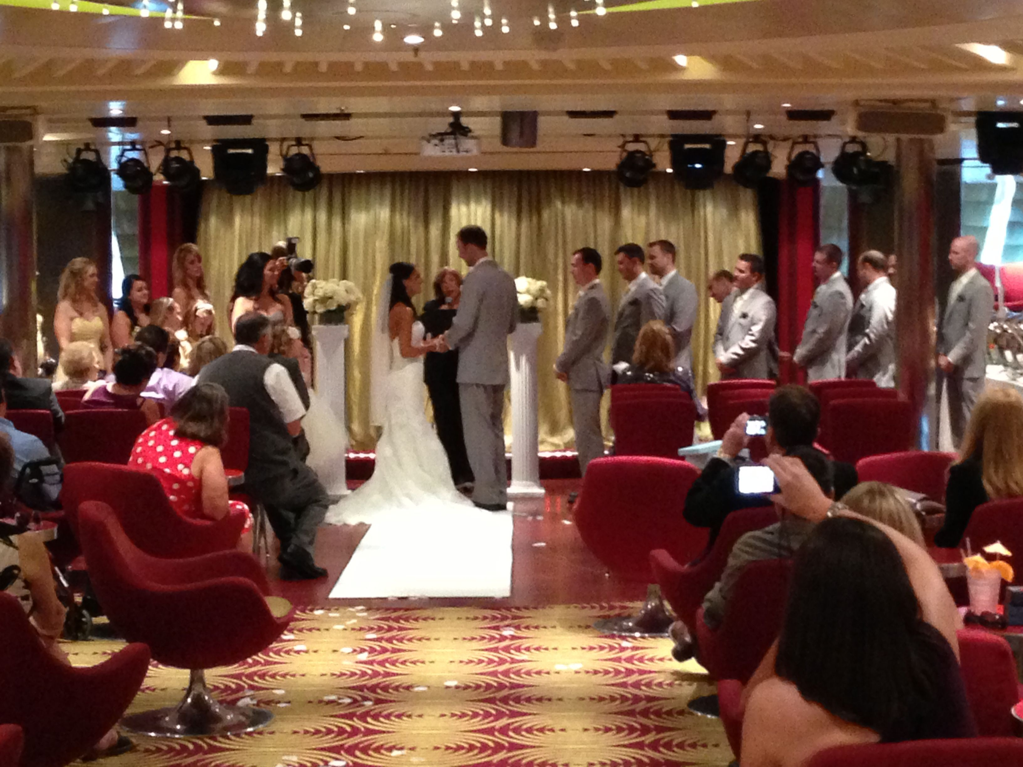 Onboard Carnival Breeze Cruise Ship Wedding Carnival Breeze Carnival Cruise Line
