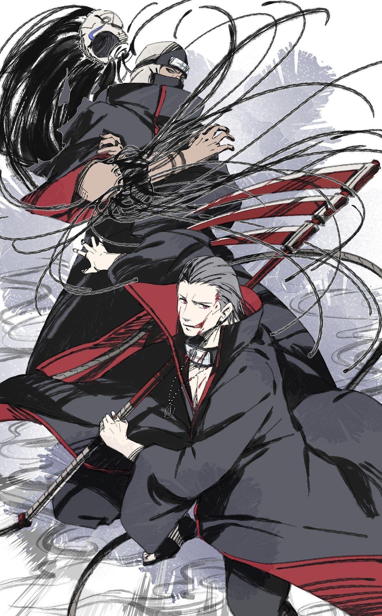 Akatsuki 暁 おしゃれまとめの人気アイデア Pinterest I Love Anime イラスト ナルト 暁 ナルト