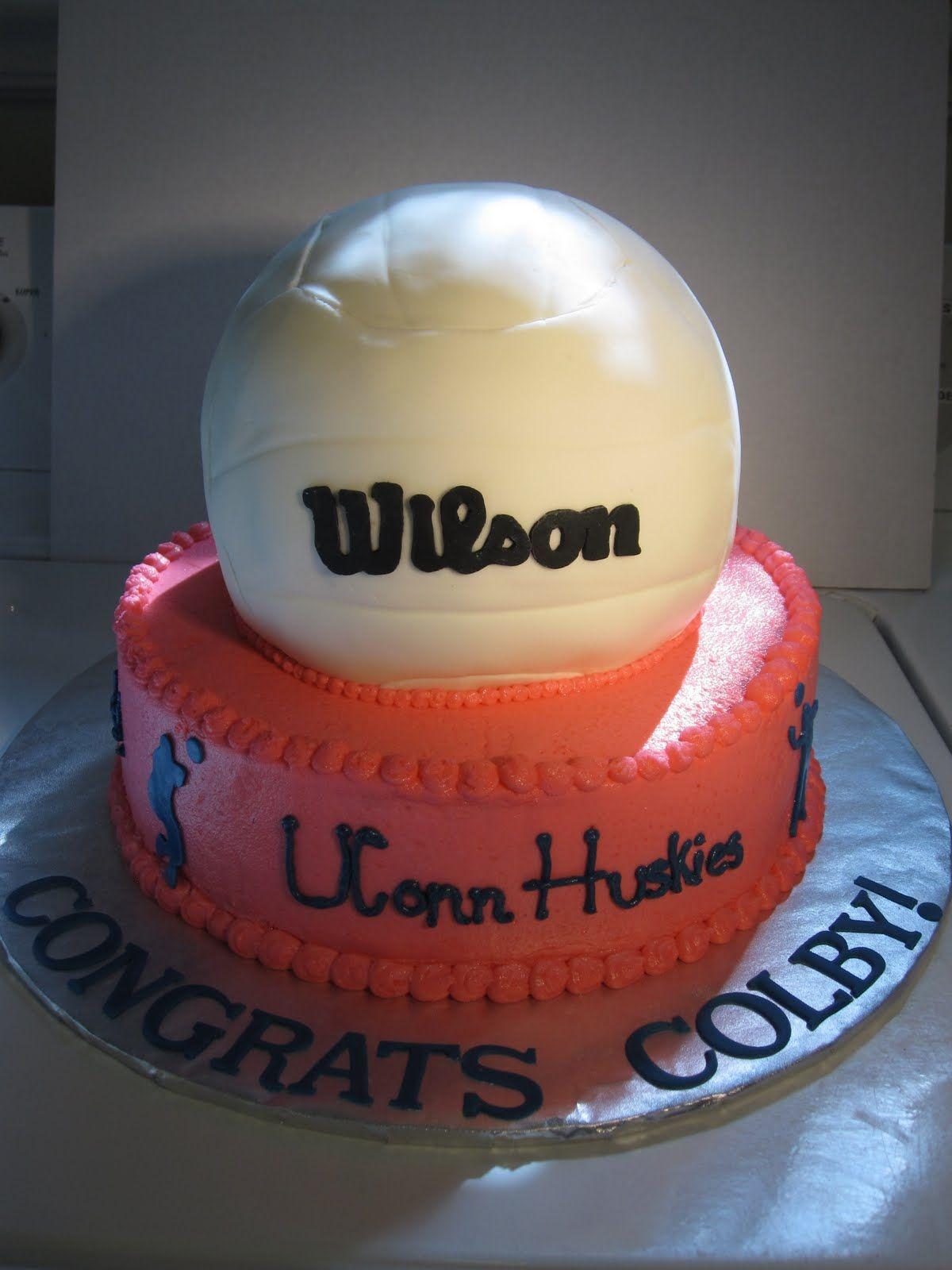 Volleyball Cake Google Search 10th Birthday Cake Ideas