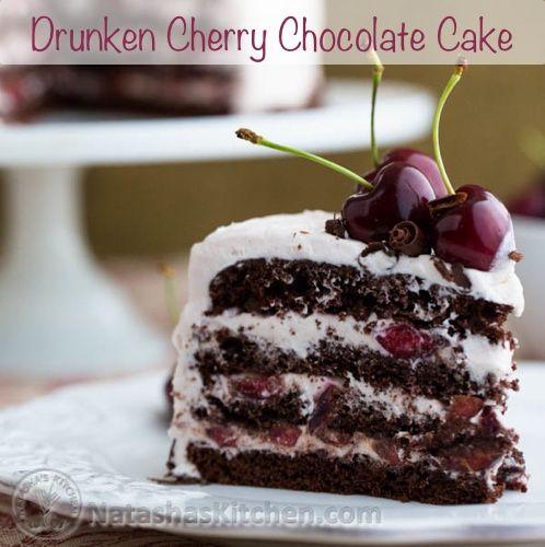 Black forest cake recipe rum