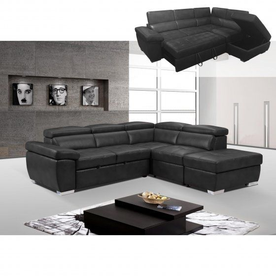 Sectional Sofa Rodi AMANDO II Sectional sofa bed Beautiful sectional sofa bed very functional Integrated storage and integrated drawer pulls to form a bed
