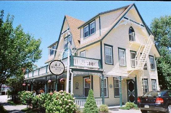 The Magnolia House Beach Haven Long Beach Island Magnolia Homes