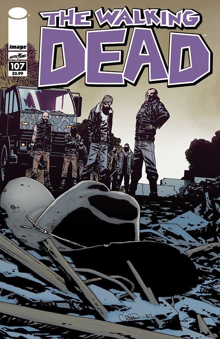 'Walking Dead' #107 #walkingdead #comic #comics #thewalkingdead #zombies