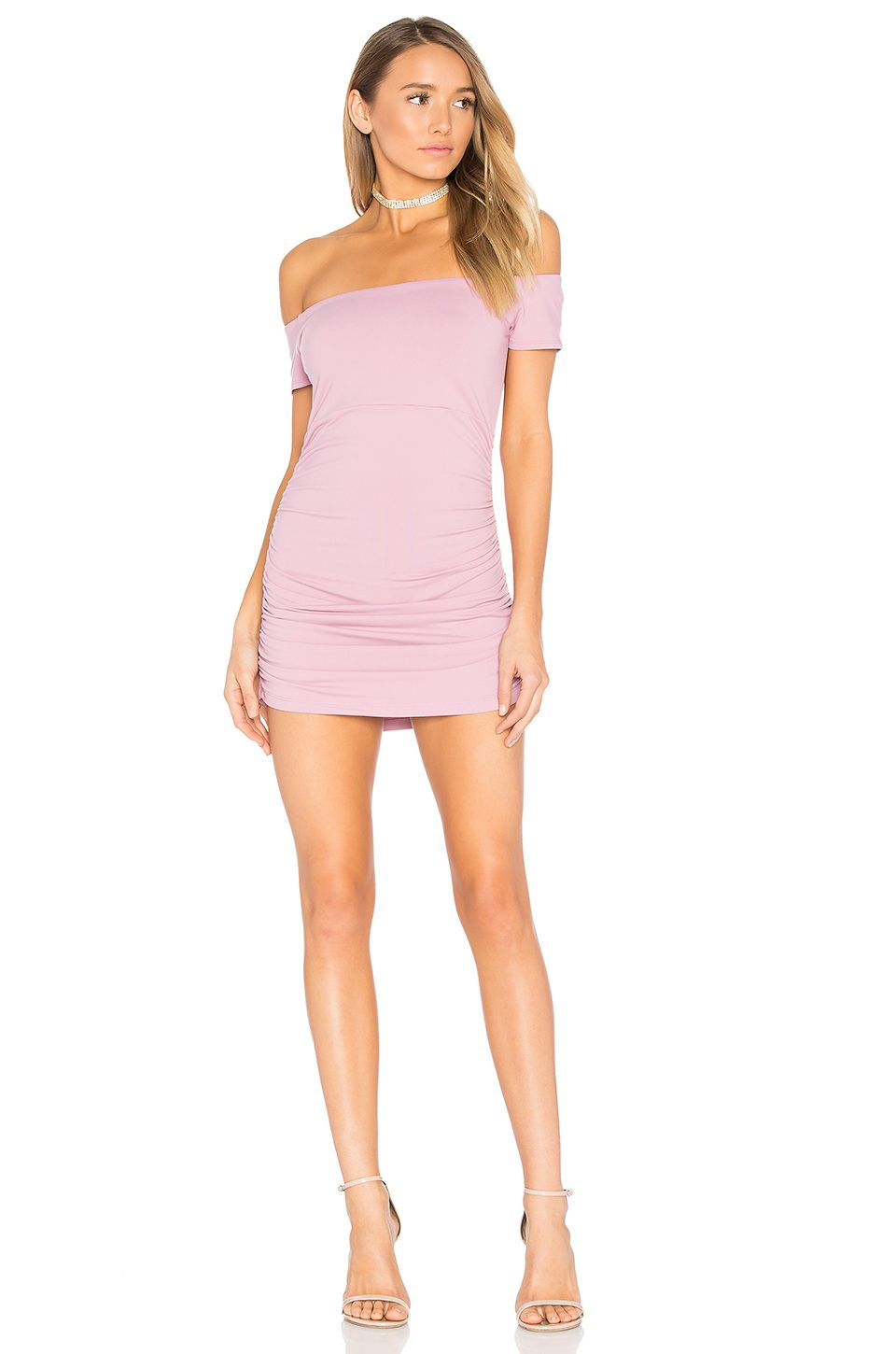 b963d11093a93 REVOLVE Off Shoulder Gathered Dress SUSA-WD1733 ---- Racquelle Lawrence --