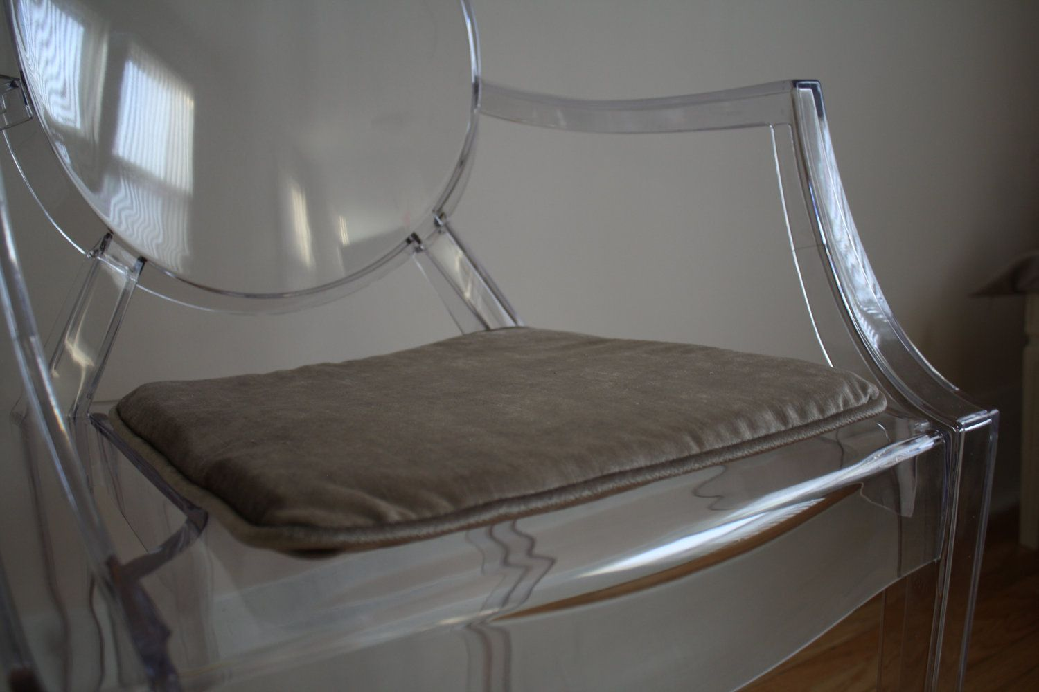 Genial Ghost Chair Custom Seat Cushion