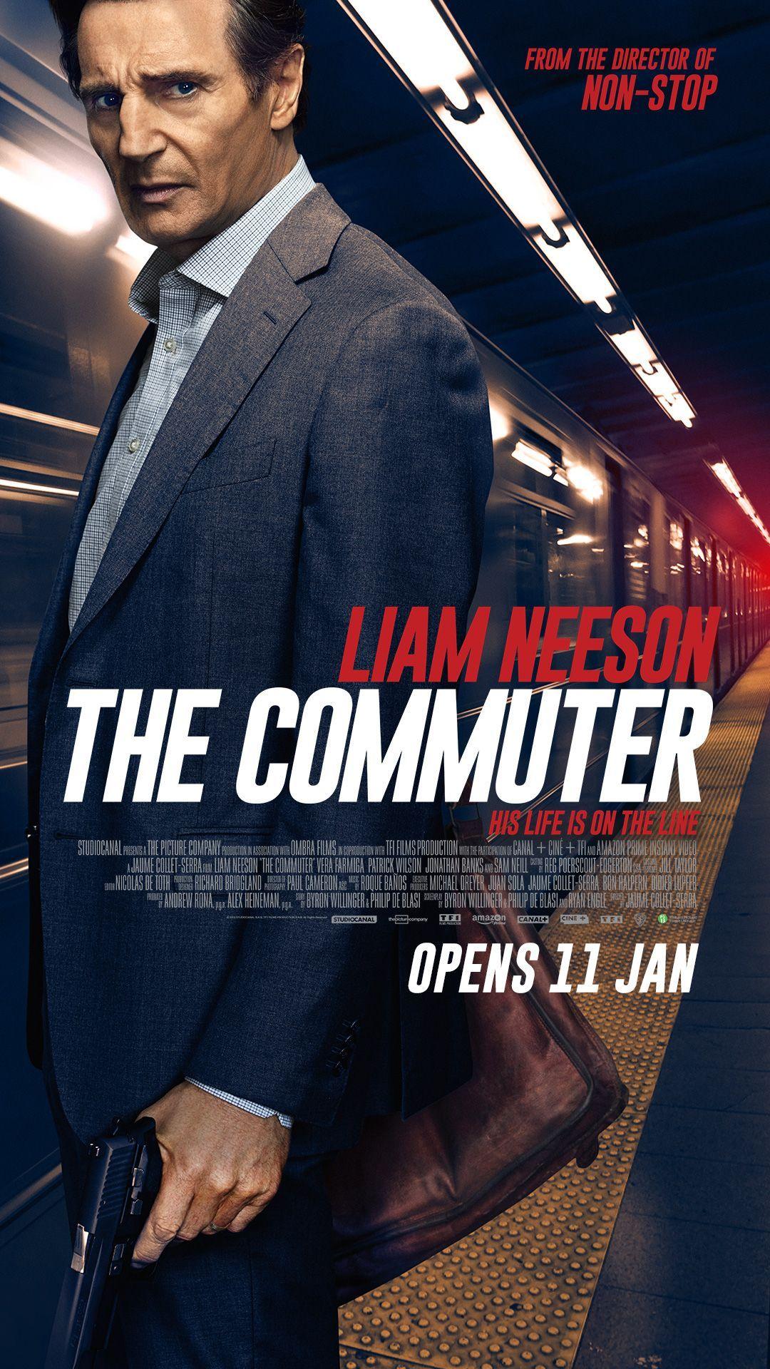 The Commuter - ceritanya mirip Liam Neeson di Non-Stop (kalo