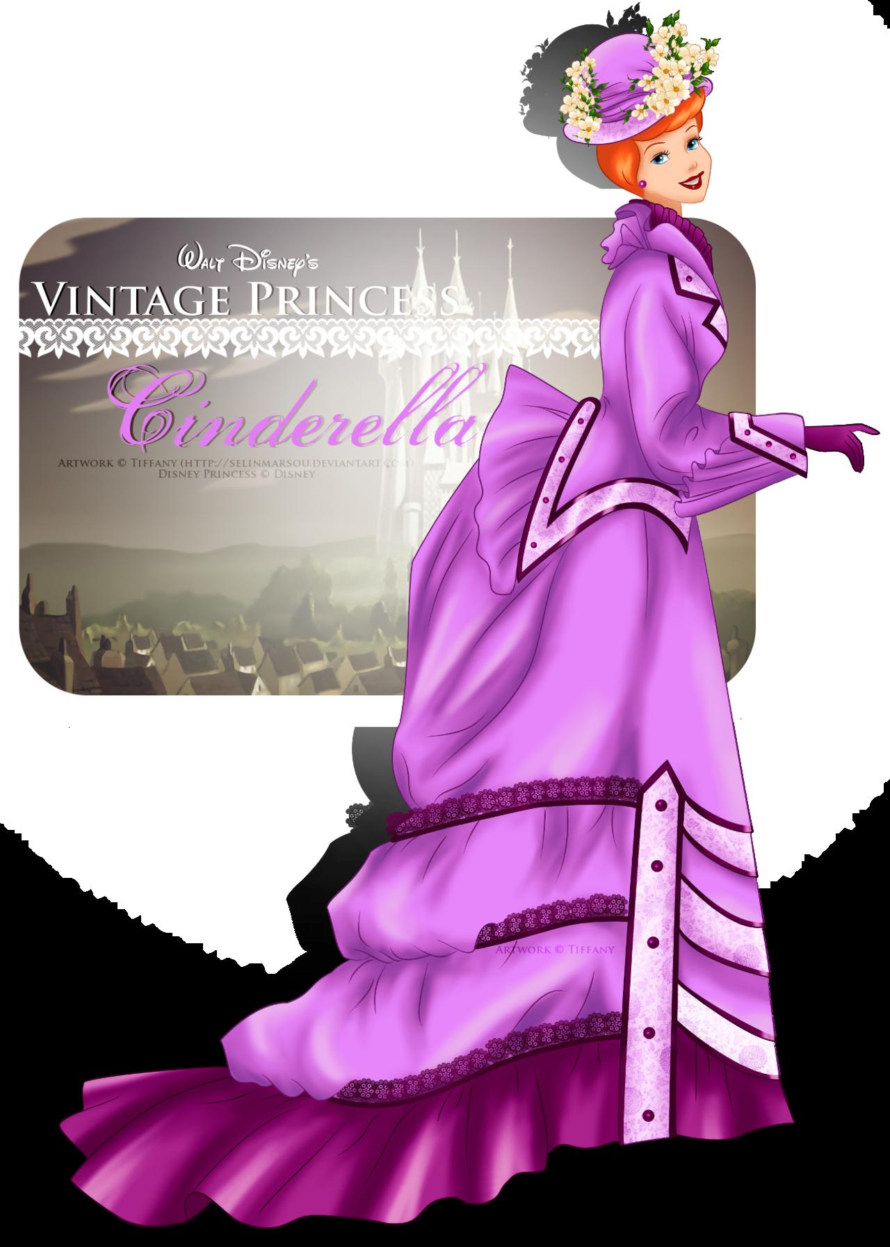 Vintage Princess - Cinderella
