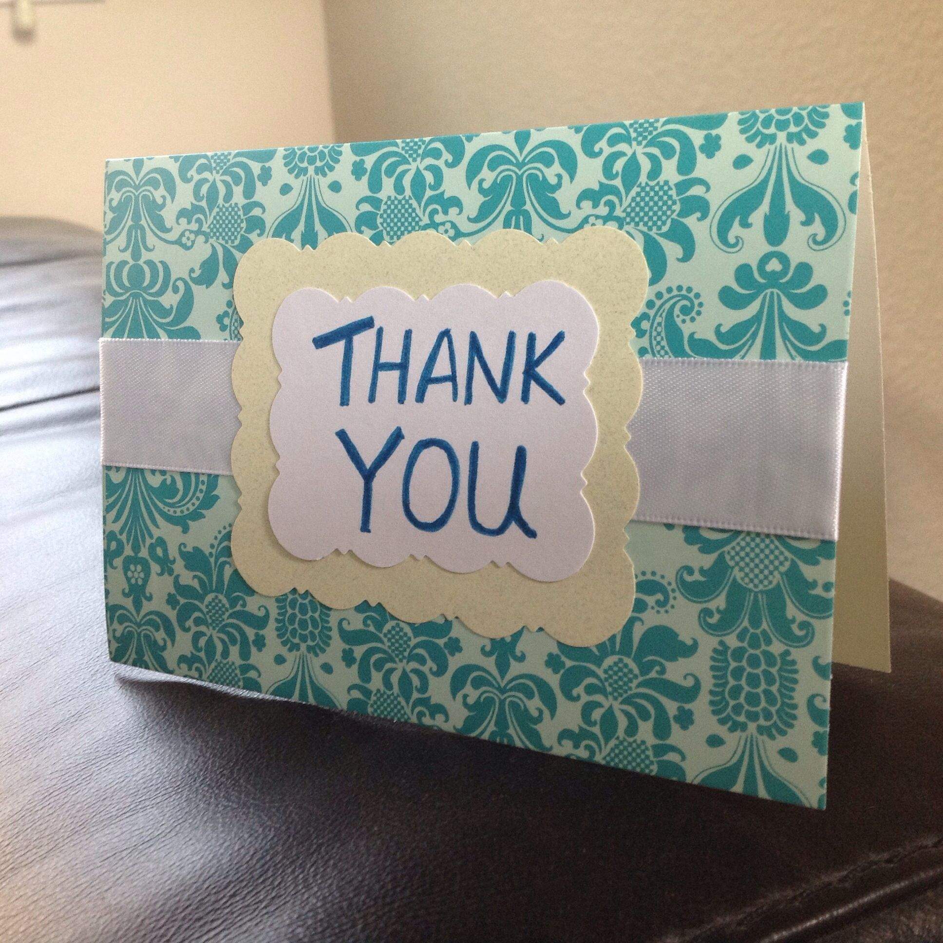 Superb Thank You Card Making Ideas Part - 10: Unique Ways To Make A Thank You Card | Give You Some Inspirations When You  Need