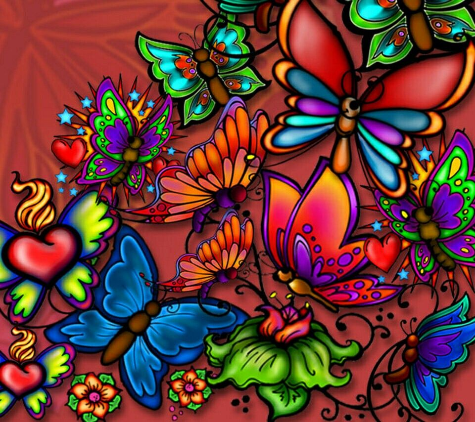 Color vision art - Explore Color Vision Butterfly Wallpaper And More