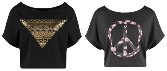 Even&odd Camiseta Print Dark Grey camisetas y blusas print Grey Even&Odd Dark camiseta Noe.Moda