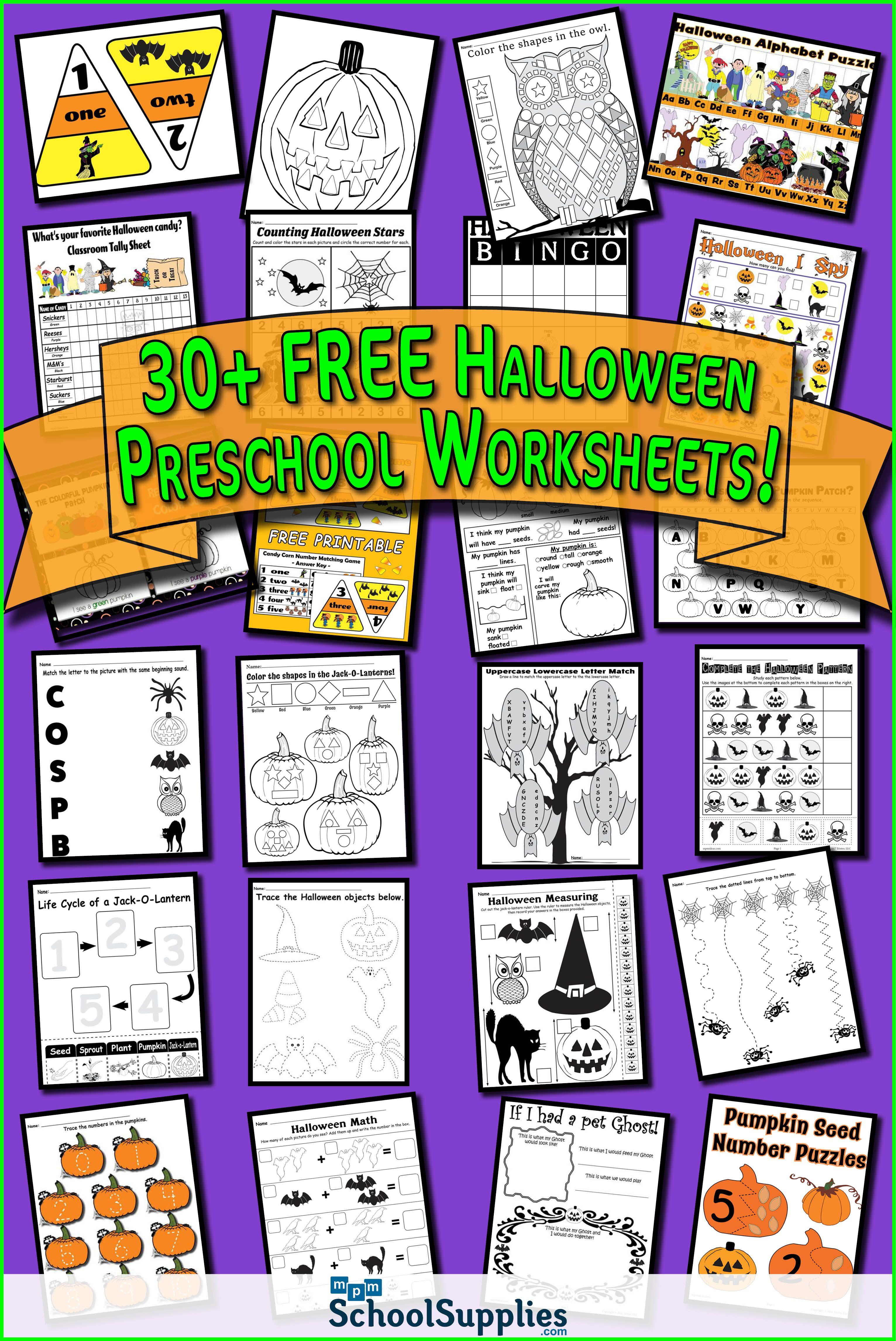 Over 30 Free Halloween Preschool Worksheets Our Halloween Preschool Printables Include Alphabet Halloween Preschool Halloween Worksheets Halloween Educational [ 4583 x 3063 Pixel ]