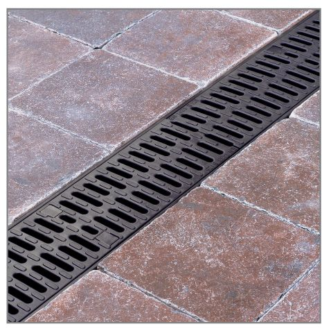 ACO HexDrain Brickslot Provides A Discreet Slot Drainage System For  Domestic Block Paving Installation And Threshold