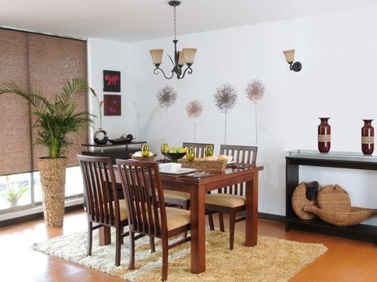 Comedor galeria vive tu casa departamento santiago for Comedores modernos 2016 precios