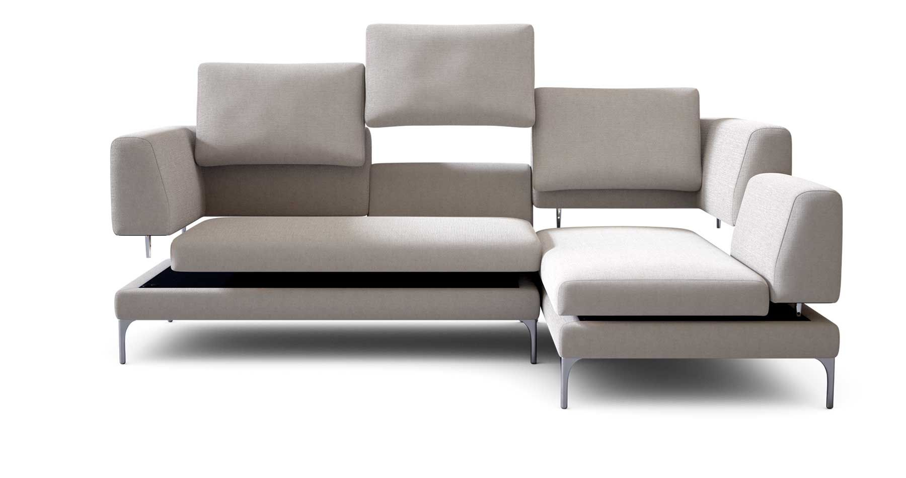 Plaza Modular Sofa Contemporary Design Lounge Couch King Living