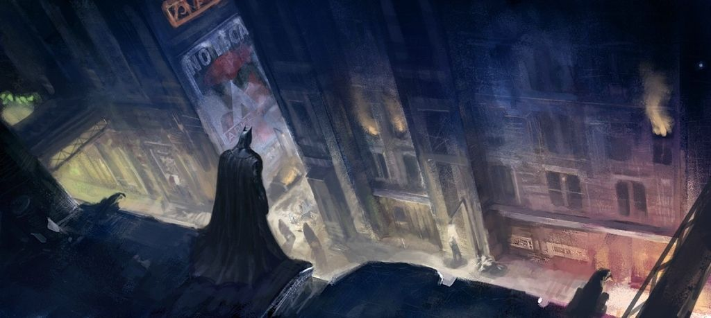 21 Incredible Pieces Of Concept Art From The Batman Arkham Games